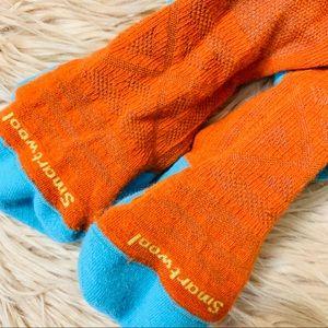 Smartwool Accessories - Smartwool | EUC Blue & Orange Anchor Socks - Large